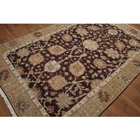 "Reversible Soumak Multi Color Hand Knotted Rug - 5'10""x8'10"""