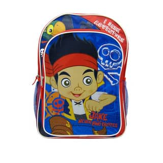 Jake & the Neverland Pirates 16-inch Backpack|https://ak1.ostkcdn.com/images/products/17006180/P23287511.jpg?impolicy=medium
