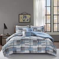 Intelligent Design Beau Aqua 5-piece Comforter Set