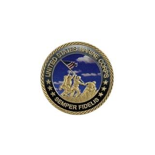 US Marine Corps Semper Fidelis Challenge Coin