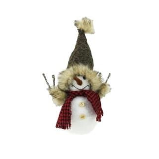 "5.25"" Snowman Christmas Tabletop Decoration"