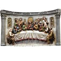"20"" The Last Supper Inspirational Religious Christmas Table Top Decoration"