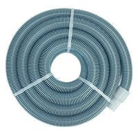 Blue Extruded EVA In-Ground Swimming Pool Vacuum Hose with Swivel Cuff - 50' x 1.5""