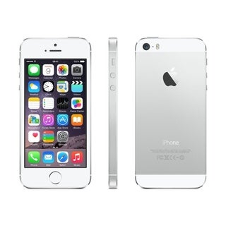 Apple iPhone 5s, 16GB, Silver, T-Mobile- Refurbished