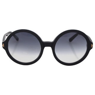 Tom Ford TF369 Juliet 01B Womens Black/Gold 55 mm Sunglasses
