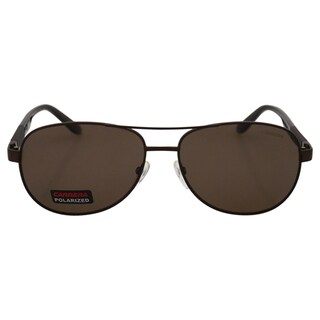 Carrera 8019/S TVLSP -Matte Men's Brown Polarized - 59-15-140 mm Sunglasses