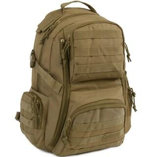 Highland Tactical Crusher Heavy Duty Tactical Backpack (Option: Beige)