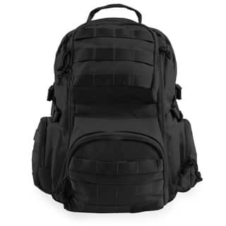 Highland Tactical Crusher Heavy Duty Tactical Backpack (Option: Black)|https://ak1.ostkcdn.com/images/products/17006819/P23288105.jpg?impolicy=medium