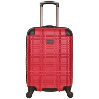 Ben Sherman Nottingham 20-inch Lightweight Hardside Carry-on 4-wheel Spinner Luggage (Option: Red)