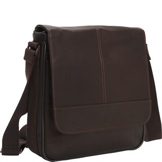 Kenneth Cole Reaction Colombian Leather Flapover Crossbody Tablet Messenger Bag (2 options available)