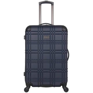 Ben Sherman Nottingham 24-inch Lightweight Hardside 4-wheel Spinner Upright Checked Suitcase