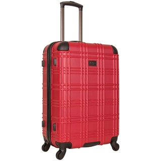 Ben Sherman Nottingham 24-inch Lightweight Hardside 4-wheel Spinner Upright Suitcase (Option: Red)
