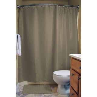 Cool Brown Shower Curtain