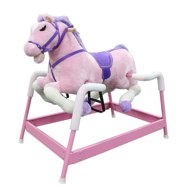 Spring Pink Horse with Sound