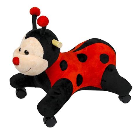 PonyLand Toys Ladybug with Wheels