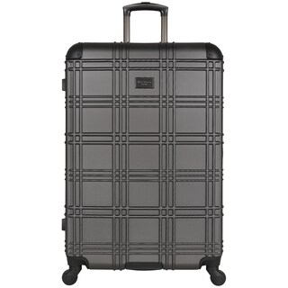 Ben Sherman Nottingham 28-inch Lightweight Hardside 4-wheel Spinner Upright Checked Suitcase