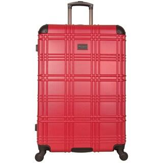 Ben Sherman Nottingham 28-inch Lightweight Hardside 4-wheel Spinner Upright Checked Suitcase