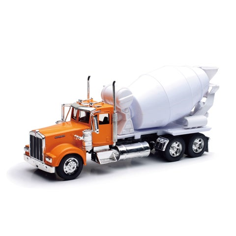 New Ray Die Cast 1:32 Kenworth W900 Cement Mixer