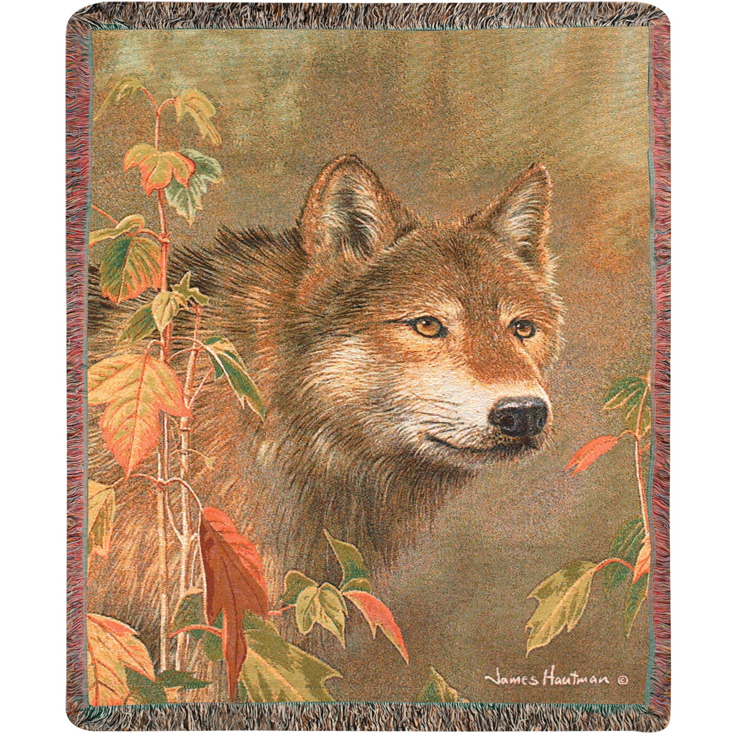 Weavers Manual Woodworkers Hidden in the Mist Wolf Tapest...
