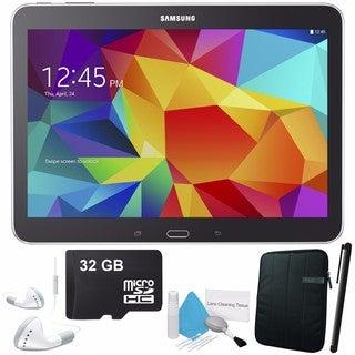 Samsung Galaxy Tab 4 10.1 SM-T530 Android 4.4 16GB WiFi Tablet (Black) Bundle