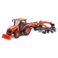 New Ray 1:18 Kubota M5-111 with Rake
