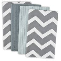 Grey Chevron Microfiber Dishtowel (Set of 4)
