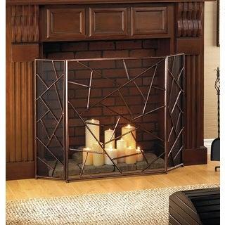 Jupiter Designed 3-Panel Fireplace Screen