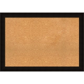 Framed Cork Board, Manteaux Black