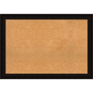Framed Cork Board, Manteaux Black