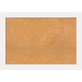 Framed Cork Board, Corvino White