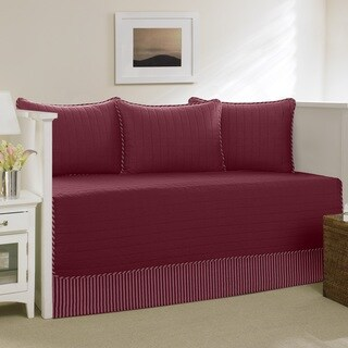 Nautica Red Maywood 5-Piece Daybed Cover Set