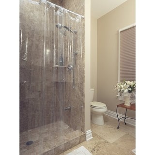 Berrnour Home Venice Collection Heavy Duty Clear Shower Curtain Liner