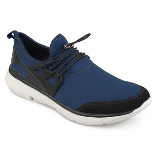 Vance Co. Men's 'Riggin' Athleisure Elastic Quick Lace Casual Sneakers