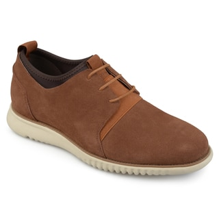 Vance Co. Men's 'Ludlow' Genuine Suede Lace-up Comfort Sole Casual Shoes