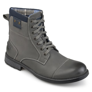 Vance Co. Men's 'Hawes' Genuine Leather Lace-up Boots