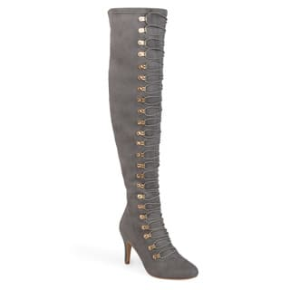 a5335240309 Buy Size 9.5 Grey Women s Boots Online at Overstock
