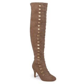Journee Collection Women's 'Trill' Regular and Wide Calf Over-the-knee Vintage Boots (More options available)