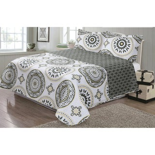 Journee Home 'Charlotte' 3-Piece Reversible Printed Quilt Set