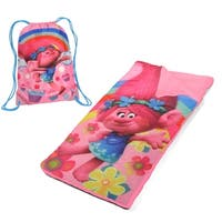 Trolls Poppy Drawstring Sling Bag & Sleeping Bag Set