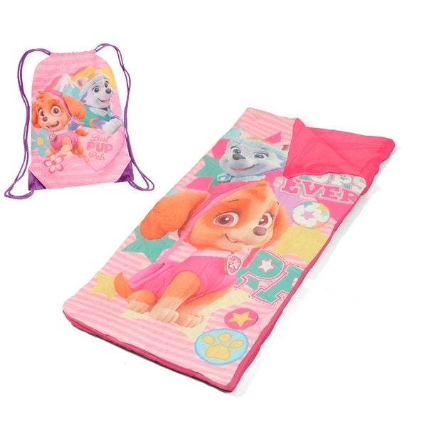 Trolls Poppy Drawstring Sling Bag & Sleeping Bag Set