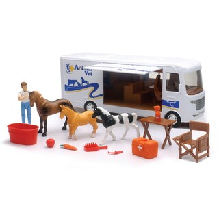 New Ray Country Life Horse Vet Set