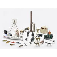 New Ray Deluxe Hunting Playset