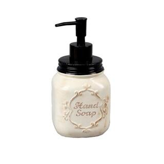 Ceramic Mason Jar Soap/Lotion Dispenser