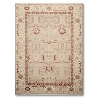 Hand Knotted High-Low Soumak Reversible Oriental Rug (5'10x8'10)