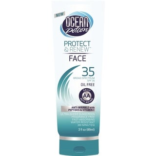 Ocean Potion 3-ounce Protect & Renew Face SPF 35 Lotion