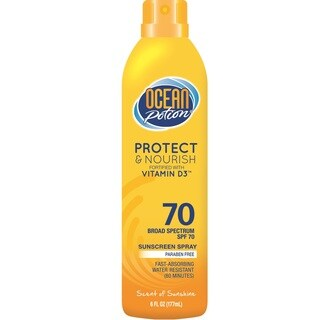 Ocean Potion 6-ounce Protect & Nourish Continuous Sunscreen Spray SPF 70