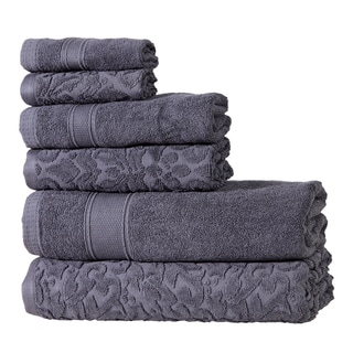Autumn Groove Cotton 6-piece Towel Set