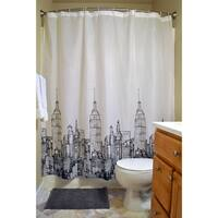 16-Piece Shower Curtain and Bath Set