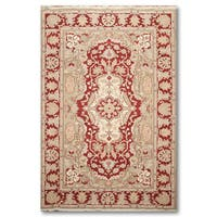 Reversible Traditional Soumak Hand Knotted Oriental Rug - Multi-color