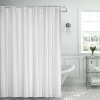 Lurex Waffle Shower Curtain